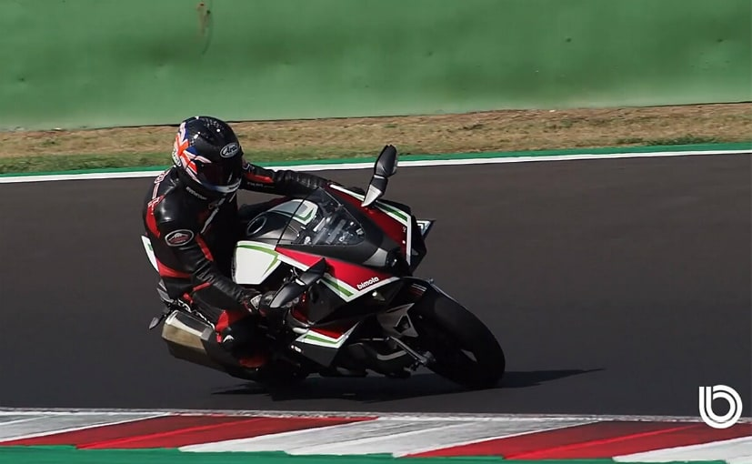 Latest video shows production-spec Bimota Tesi H2 being ridden at the Misano circuit in Italy