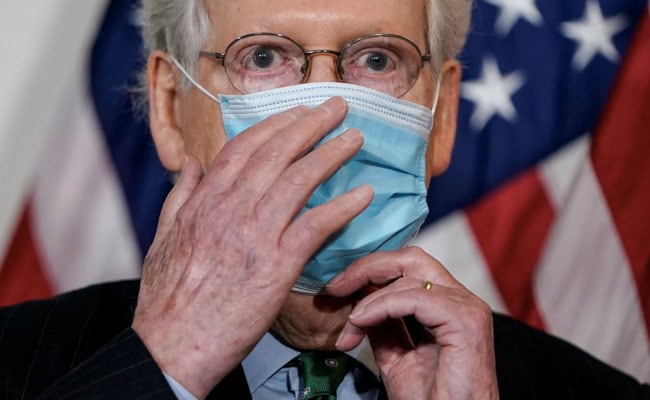 McConnell Avoids White House, Citing Laxity On Masks, COVID-19 Precautions