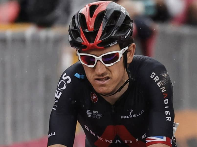 Giro DItalia: Geraint Thomas Pulls Out After Crash Leaves Rider With Fractured Pelvis