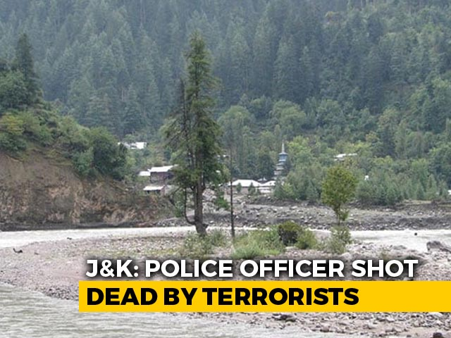 Video : Police Officer Shot Dead By Terrorists Near His House In J&K's Anantnag
