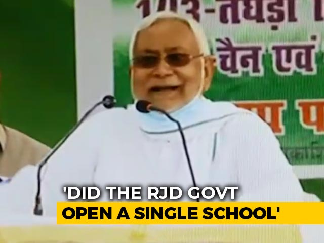 Video: 'Ask Your Father': Nitish Kumar's Latest Outburst At Tejashwi Yadav