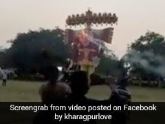 Trinamool MLA's Defence As Video Of Thousands At Dussehra Event Is Viral