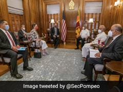 Amid China Concern In IndoPacific, Mike Pompeo Meets Sri Lankan President