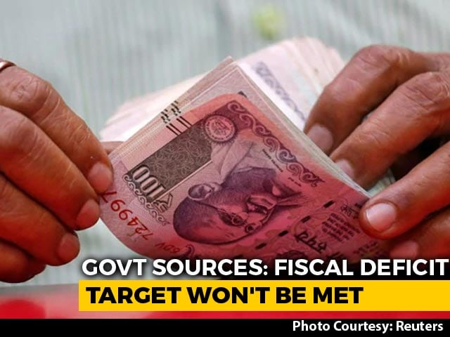 Video : Centre Won't Be Able To Meet Fiscal Deficit Target As Budgeted: Sources