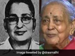 IAF's First Woman Commissioned Officer Dies At 96