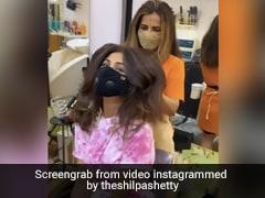 शिल्पा शेट्टी ने कटवाए अपने लंबे बाल, नए हेयरस्टाइल में दिखा एक्ट्रेस का यह अंदाज- Video हुआ वायरल