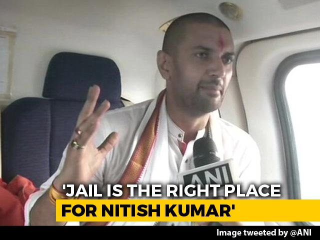 Video: 'Jail Right Place For Him': Chirag Paswan Sharpens Attack On Nitish Kumar