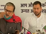 Video : As Tejashwi Yadav Releases RJD Poll Manifesto, A Dig At BJP, Nitish Kumar