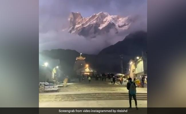 रितेश देशमुख ने शेयर किया केदारनाथ मंदिर का खूबसूरत Video, बोले- अत्यधिक सुंदर...