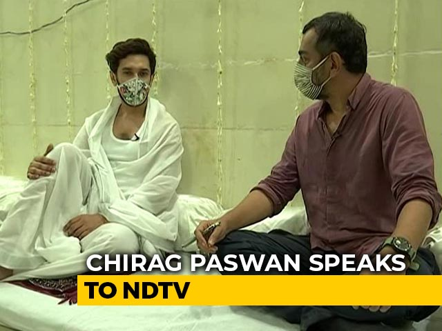 "Video : ""My Father Instigated Me To Contest Alone"": Chirag Paswan To NDTV"