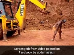 Man Uses JCB Excavator To Scratch His Back In Viral Video