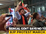 "Video : BJP Digs In Heels As Bengal Government Says ""No"" To Secretariat March"