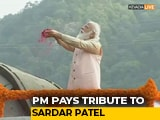 Video : PM Modi Pays Tribute To Sardar Patel At Statue Of Unity
