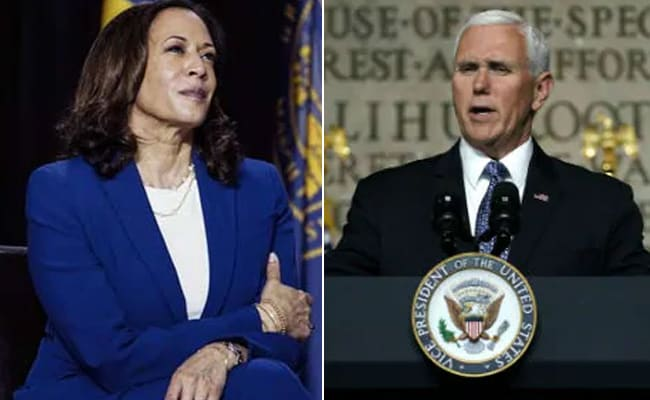 US Vice President Mike Pence Calls Kamala Harris, Offers Help: Report