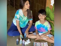 Shilpa Shetty's Son Viaan Raj Kundra, 8, Dedicated His School Project To Sonu Sood. His Reaction