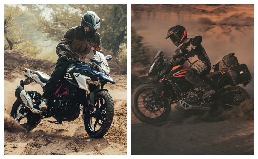 The KTM 390 Adventure makes more power & torque and gets better equipment over the BMW G 310 GS