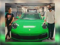 Actors Fahadh Faasil And Nazriya Nazim Bring Home The Porsche 911 Carrera S