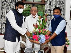 BS Yediyurappa's Photo Op Amid Talk Of Rift Over Cabinet Posts