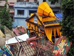 This Kolkata Durga Puja Pandal Relives Cyclone Amphan Horror. See Pics