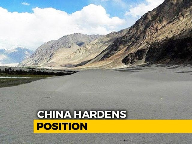 """Video : """"Ladakh Union Territory Illegally Set Up"""" By India: China Amid Standoff"""