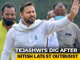 "Video : ""He is Tired"": Tejashwi Yadav's Dig After Nitish Kumar's Latest Outburst"