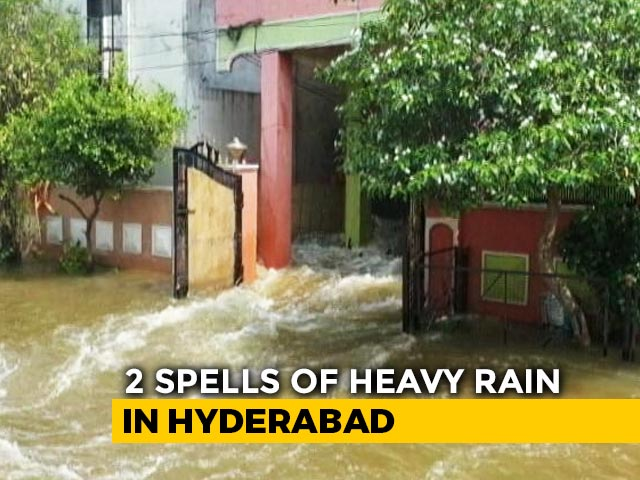 Video : More Rain Forecast For Hyderabad, Battling Deluge; 70 Dead In Telangana