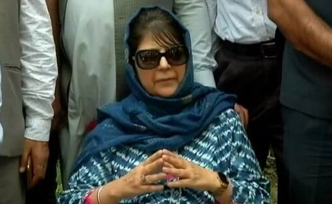 Mehbooba Mufti Seeks Probe Into Alleged Fake Encounter In J&K's Parimpora