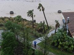"""Life-Threatening"" Storm Surge As Hurricane Delta Makes Landfall In US"
