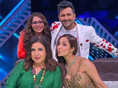 "When Malaika Arora, Geeta Kapur And Terence Lewis Were ""Blessed With"" One Helluva Meal By Farah Khan"