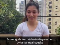 कोरोना को मात देने के बाद यूं वर्कआउट करती दिखीं तमन्ना भाटिया, वायरल हुआ Video