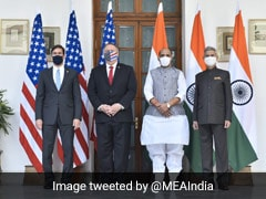 "Cross-Border Terrorism ""Completely Unacceptable"": India, US After Meet"