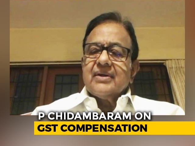 "Video : ""Not A Climbdown, But Welcome"": P Chidambaram On Centre's GST Move"