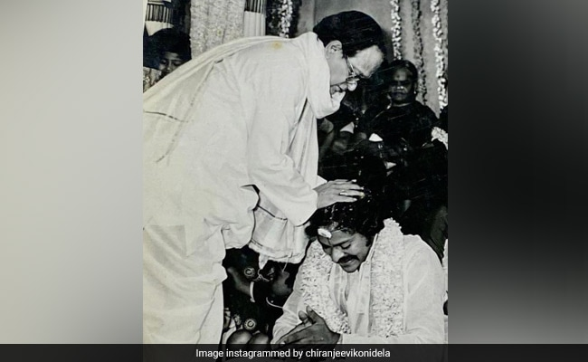 Here's What Chiranjeevi Shared On Father-In-Law Allu Ramalingaiah's 99th Birth Anniversary