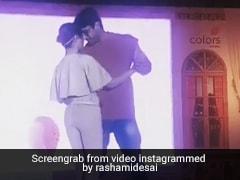 Rashami Desai ने Sidharth Shukla के साथ किया रोमांटिक डांस, Video में दिखी जबरदस्त केमिस्ट्री