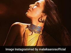 मलाइका अरोड़ा ने गोल्डन लहंगे में करवाया ग्लैमरस फोटोशूट, Video हुआ वायरल