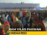 Video : Ram Vilas Paswan's Cremation Held In Patna, Leaders Pay Last Respects