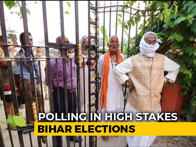 Video : Bihar Polls: First Election Amid Pandemic, Strict SOPs In Place