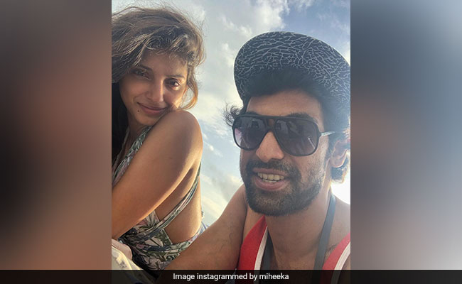 Rana Daggubati And Miheeka Bajaj's Stunning Pic After Wedding