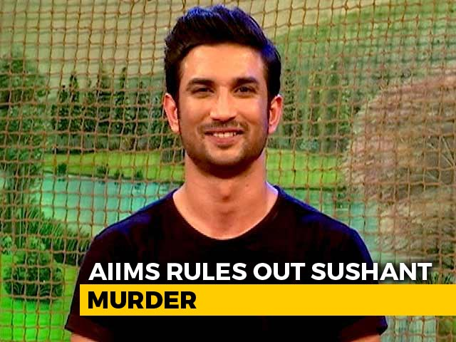Video : AIIMS Report Rules Out Sushant Singh Rajput Murder Theories, Say Sources