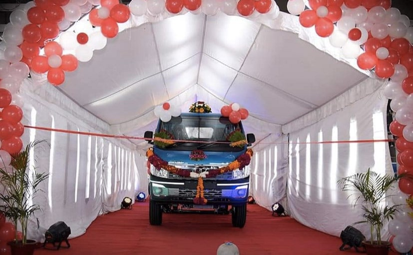 The company has been manufacturing the Tata Ace and the new Intra LCV at the plant