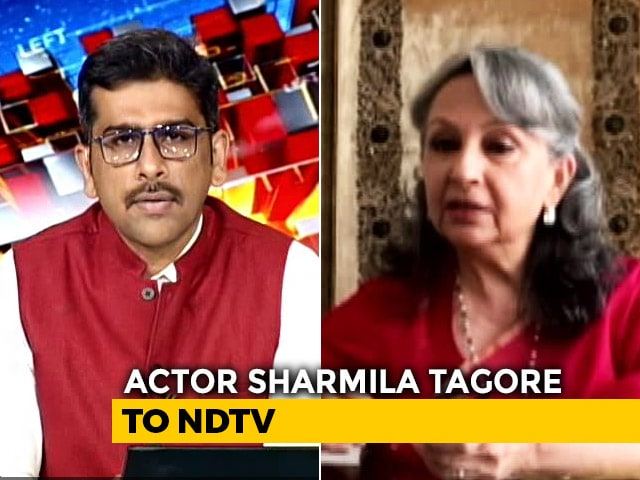 Media Behaving With Complete and Utter Impunity': Actor Sharmila Tagore