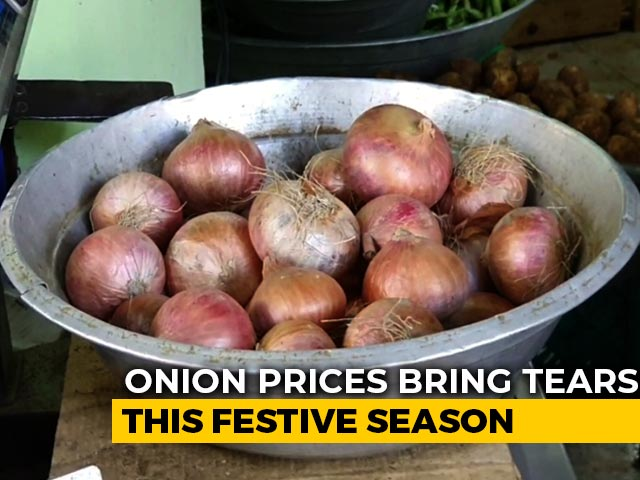 Video : With Over Rs 100 Per Kg, Onion Prices Making People Cry In Chennai