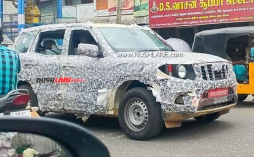 The next-gen Mahindra Scorpio SUV will be offered in both petrol and diesel engine options