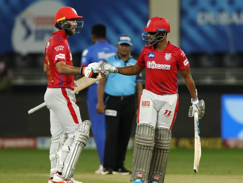 Nicholas Pooran and Maxwell shared a crucial stand