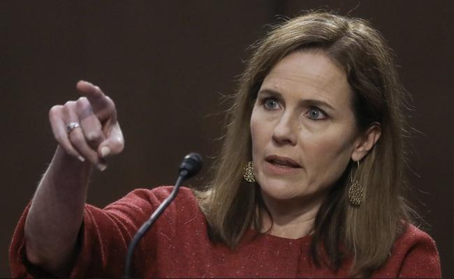 US Senate Advances Supreme Court Nomination Of Amy Coney Barrett