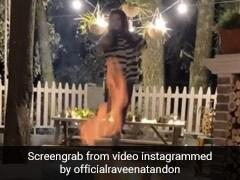 रवीना टंडन ने कड़कड़ाती ठंड में बोन फायर एंजॉय करते हुए किया डांस, खूब Viral हो रहा Video