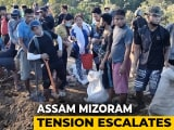 Video : Mizoram Refuses To Withdraw Forces From Assam, Highway Blocked For Third Day