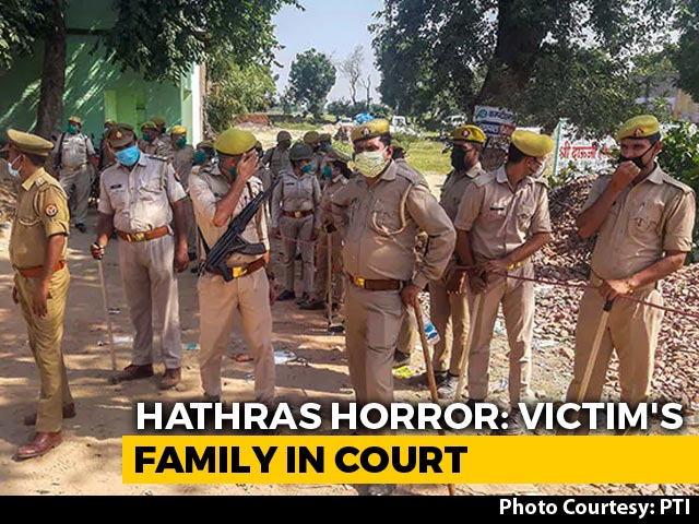 Video : Hathras Gang Rape Case: Victim's Family Reaches High Court Amid Tight Security