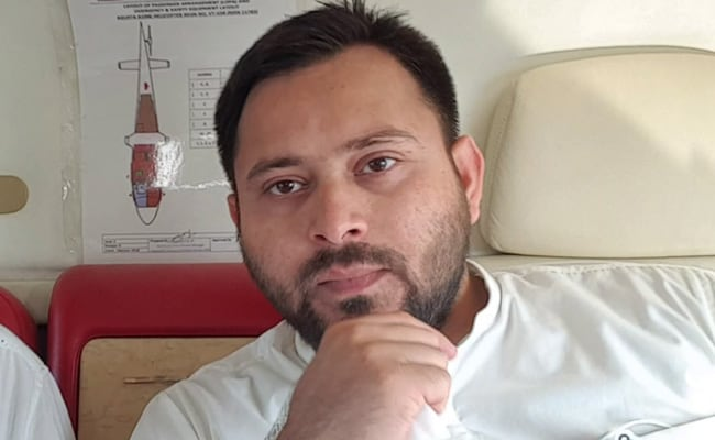 """""""Chief Minister Fakes It As Regular"""": Tejashwi Yadav On Gaps In Vaccination"""