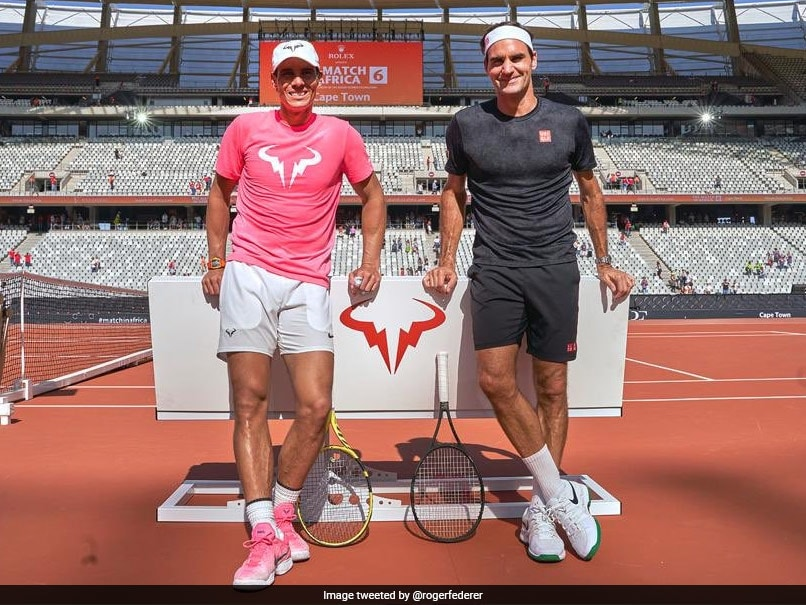 """You Deserve It"": Roger Federer Congratulates Rafael Nadal On 20th Grand Slam Win"